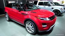 2013 Range Rover Evoque Coupe at 2013 Detroit Auto Show
