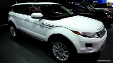 2013 Range Rover Evoque at 2013 Detroit Auto Show