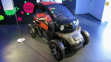 2013 Renault Twizy ZE Electric Vehicle at 2012 Paris Auto Show
