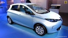 2013 Renault Zoe ZE Electric Vehicle at 2012 Paris Auto Show