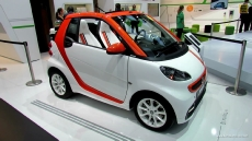 2013 Smart Fortwo Cabrio Brabus Electric Drive Tailer Made at 2012 Paris Auto Show