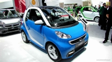 2013 Smart Fortwo IceShine at 2012 Paris Auto Show