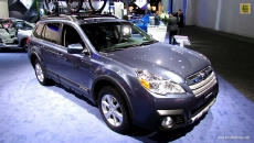 2013 Subaru Outback Limited at 2013 Detroit Auto Show