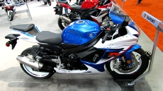 2013 Suzuki GSX-R600 at 2013 Toronto Motorcycle Show