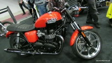 2013 Triumph Bonneville at 2013 Montreal Motorcycle Show
