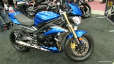 2013 Triumph Speed Triple 675 at 2013 Montreal Motorcycle Show