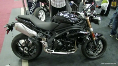 2013 Triumph Speed Triple 1050 at 2013 Montreal Motorcycle Show