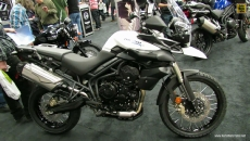 2013 Triumph Tiger 800 XC at 2013 Montreal Motorcycle Show