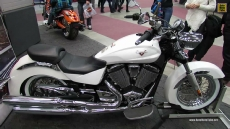 2013 Victory Boardwalk at 2013 Quebec Motorcycle Show