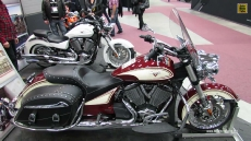 2013 Victory Cross Roads Classic at 2013 Quebec Motorcycle Show