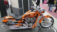 2013 Victory Jackpot at 2013 Quebec Motorcycle Show