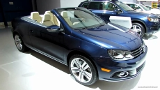 2013 Volkswagen EOS Convertable at 2013 Montreal Auto Show