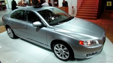 2013 Volvo S80 T6 AWD at 2013 Detroit Auto Show