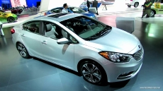 2014 KIA Forte EX-GDi at 2012 Los Angeles Auto Show