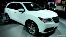 2014 Acura MDX SH-AWD at 2013 Los Angeles Auto Show