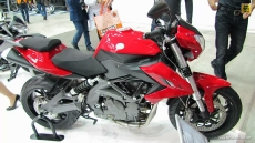 2014 Benelli BN600R at 2013 EICMA Milan Motorcycle Exhibition