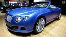 2014 Bentley Continenetal GT Speed Convertible at 2013 NY Auto Show