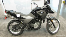 2014 BMW G650GS at 2013 New York Motorcycle Show
