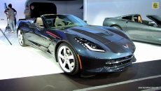 2014 Chevrolet Corvette Stingray Concertible at 2013 NY Auto Show