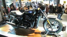 2014 Harley-Davidson Street 500 at 2013 EICMA Milan Motorcycle Exhibition