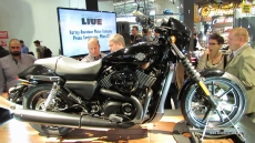 2014 Harley-Davidson Street 750 at 2013 EICMA Milan Motorcycle Exhibition
