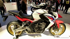 2014 Honda CB650F at 2013 EICMA Milan Motorcycle Exhibition