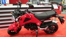 2014 Honda Grom 125 at 2013 New York Motorcycle Show