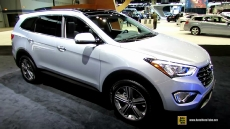2014 Hyundai Santa Fe Limited AWD at 2014 Chicago Auto Show