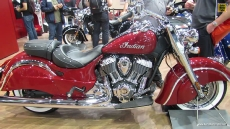2014 Indian Chief Classic (Red Colour) at 2013 EICMA Milan Motorcycle Exhibition