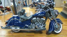 2014 Indian Chief Classic at 2013 New York Motorcycle Show