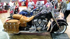 2014 Indian Chief Vintage at 2013 EICMA Milan Motorcycle Exhibition