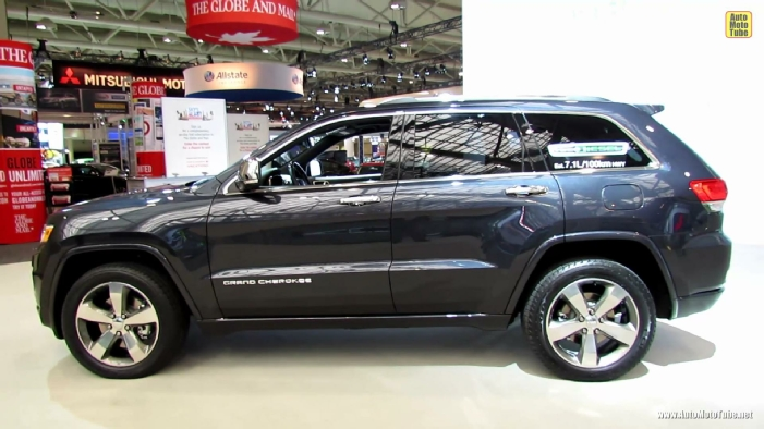 2014 jeep grand cherokee overland diesel at 2013 toronto auto show. Black Bedroom Furniture Sets. Home Design Ideas