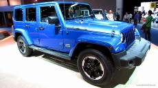 2014 Jeep Wrangler Unlimited Polar Diesel at 2013 Frankfurt Motor Show
