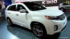 2014 KIA Sorento SXL V6 GDI at 2013 Los Angeles Auto Show