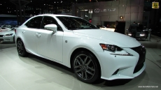 2014 Lexus IS250 F-Sport at 2013 NY Auto Show