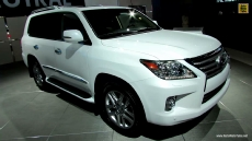 2014 Lexus LX570 at 2013 Los Angeles Auto Show