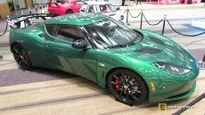 2014 Lotus Evora S Green at 2014 Toronto Auto Show