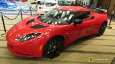 2014 Lotus Evora S Red at 2014 Toronto Auto Show