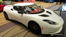 2014 Lotus Evora S White at 2014 Toronto Auto Show