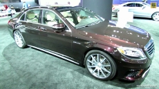 2014 Mercedes-Benz S-Class S63 AMG at 2013 Los Angeles Auto Show