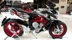 2014 MV Agusta Rivale 800cc Camu at 2013 EICMA Milan Motorcycle Exhibition