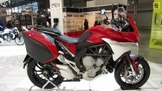 2014 MV Agusta Turismo Veloce 800 at 2013 EICMA Milan Motorcycle Exhibition