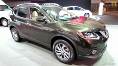 2014 Nissan Rogue SL AWD at 2013 Los Angeles Auto Show