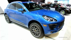 2014 Porsche Macan S at 2014 Chicago Auto Show