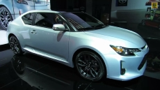 2014 Scion tC Silver Ignition 10 Series at 2013 NY Auto Show