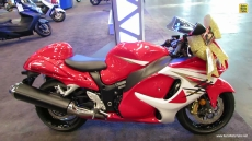 2014 Suzuki GSX-R1300 Hayabusa at 2013 New York Motorcycle Show