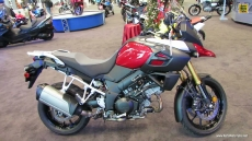 2014 Suzuki V-Strom 1000 ABS at 2013 New York Motorcycle Show