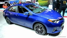 2014 Toyota Corolla S at 2013 Los Angeles Auto Show