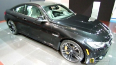 2015 BMW M4 Coupe at 2014 Chicago Auto Show