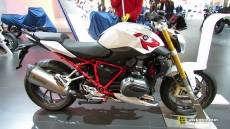 2015 BMW R1000R at 2014 EICMA Milan Motorcycle Exhibition